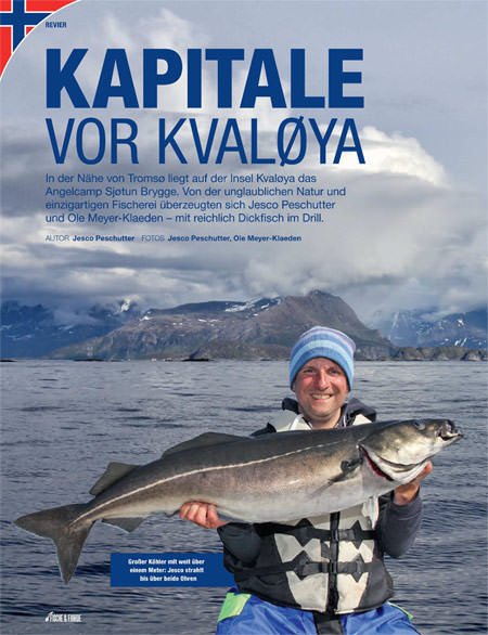 Nord Norwegen Sjotun Brygge Pressebericht Cover